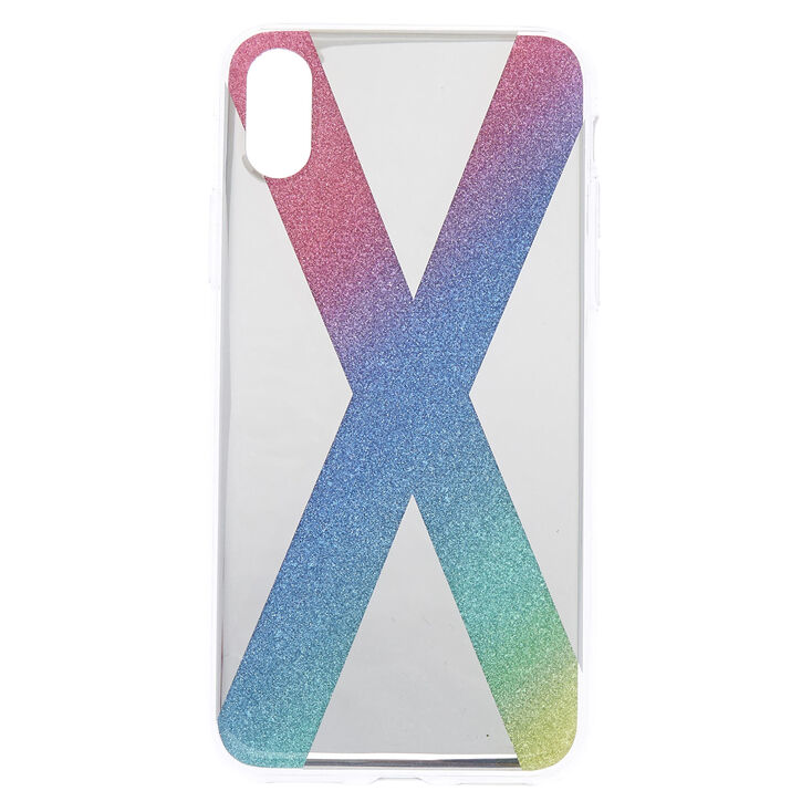 Rainbow Cake Glitter Phone Case - Fits iPhone X/XS,