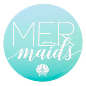 Mermaids Button - Turquoise,