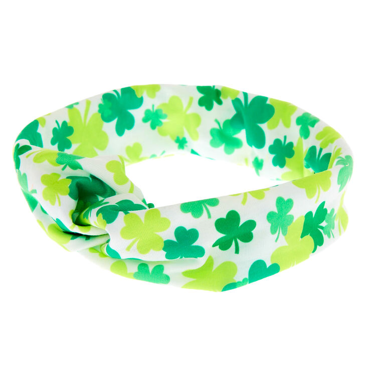 Shamrock Twisted Headwrap - Green,