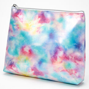 Bright Tie Dye Makeup Bag,