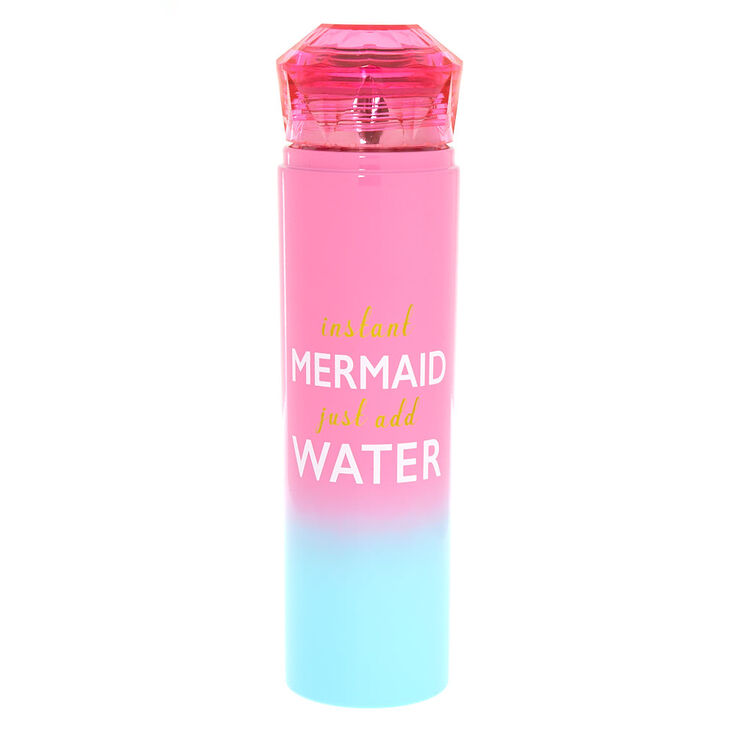 Instant Mermaid Ombre Water Bottle - Pink,