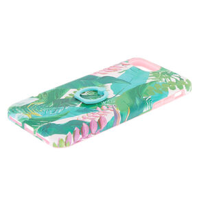 Tropical Leaves Square Protective Phone Case,
