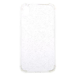 Clear Holographic Glitter Phone Case - Fits iPhone XS Max,