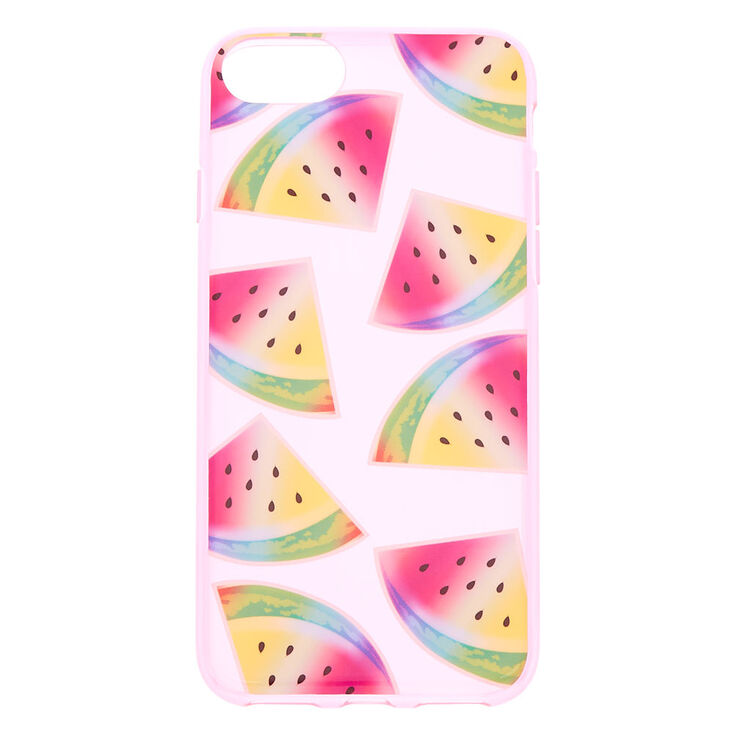 Neon Pink Watermelon Phone Case - Fits iPhone 6/7/8,