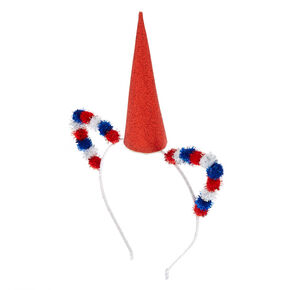 USA Pom Unicorn Headband,