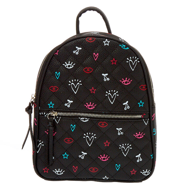 Icon Small Backpack - Black,