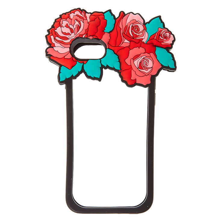 Red Rose Flower Crown Bumper Phone Case,