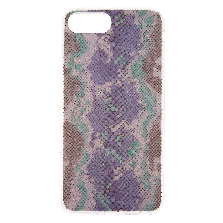 Glitter Snakeskin Phone Case - Fits iPhone 6/7/8 Plus,