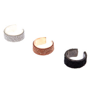 3 Pack Glitter Ear Cuffs,