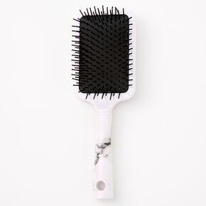 Black & White Marble Hair Brush,