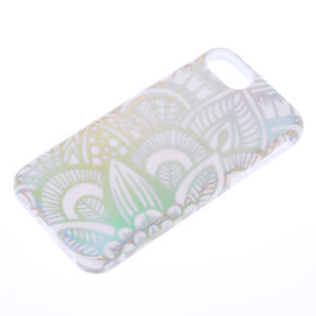 Holographic Mandala Protective Phone Case - Fits iPhone 5/5S/SE,