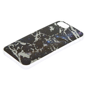 Marble Space Phone Case - Black,