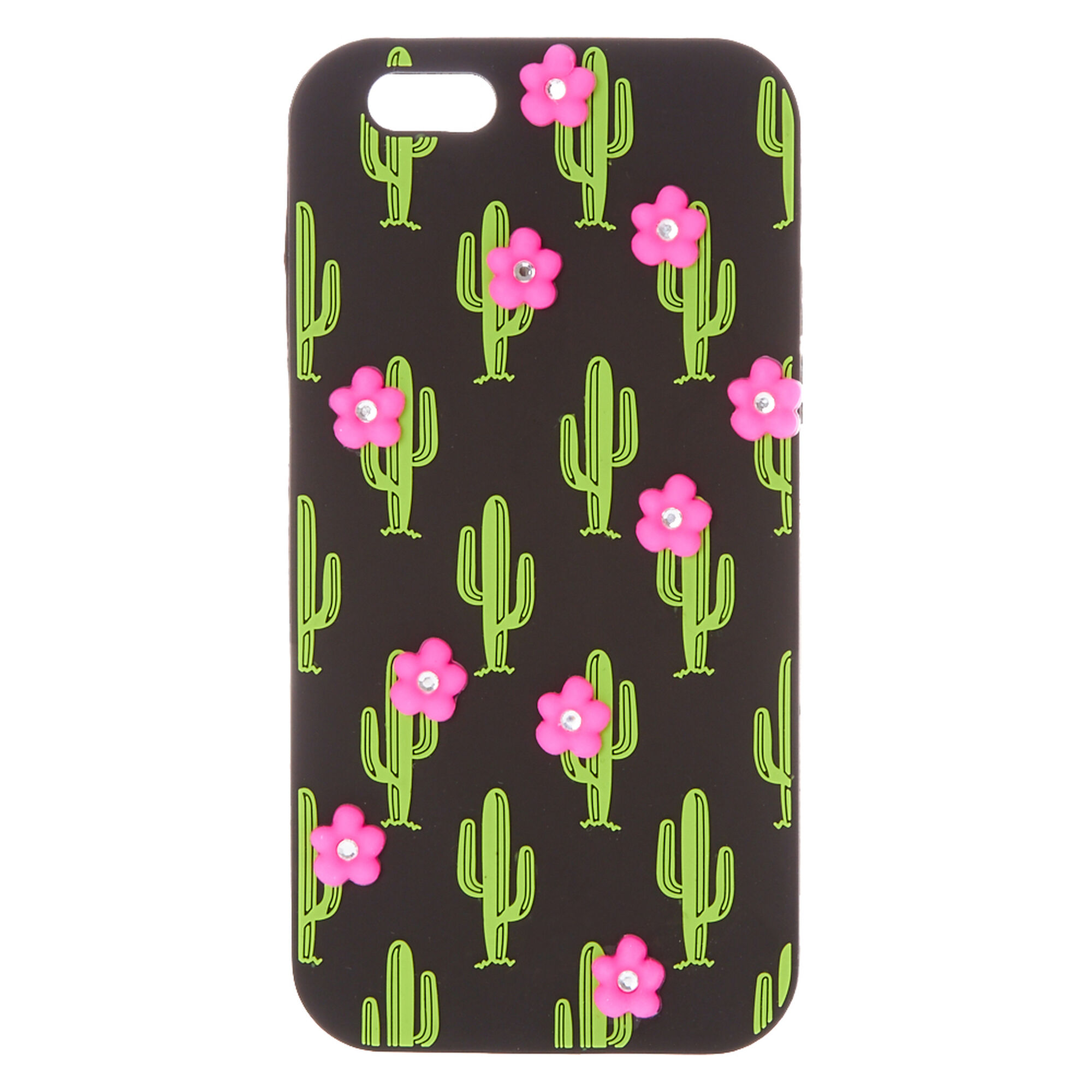 Cactus With Pink Flowers Phone Case Icing Us