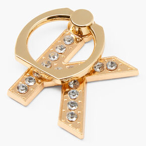 Gem Initial Ring Stand - K,