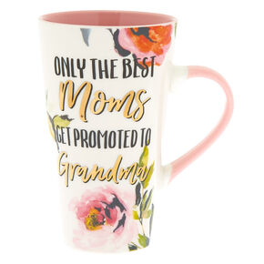 Best Moms Get Promoted to Grandma Tall Mug,