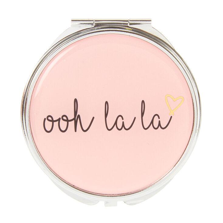 Ooh La La  Double-Sided Mirror Compact,