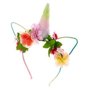 Flower Crown Unicorn Headband,