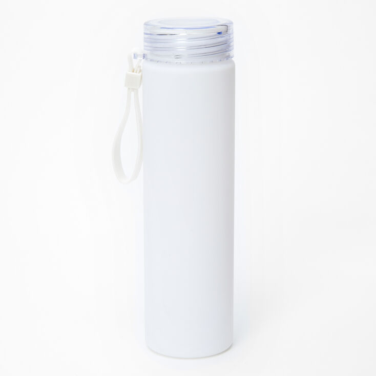 Personalized Water Bottle - White,