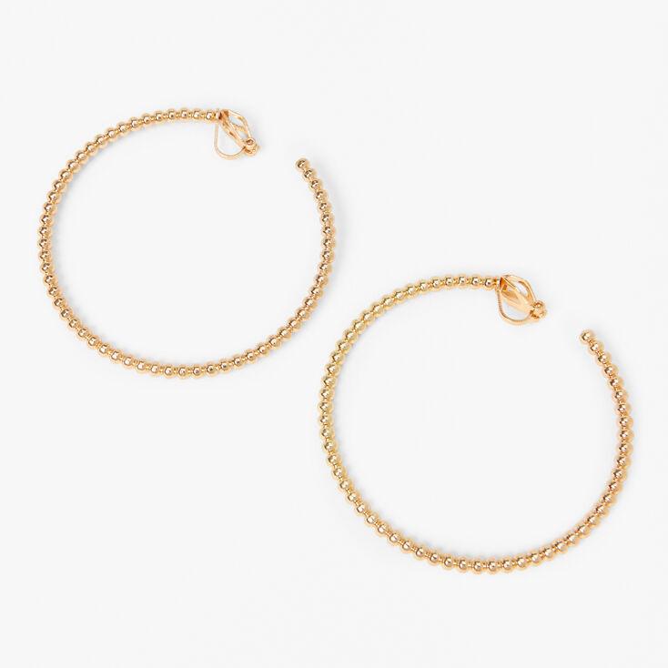 Gold Tone Frame Pastel Gem Daisy Stud Earrings,