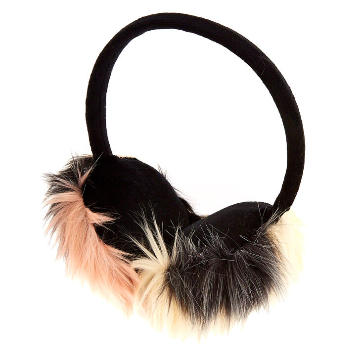 Chanelle Faux Fur Earmuffs,