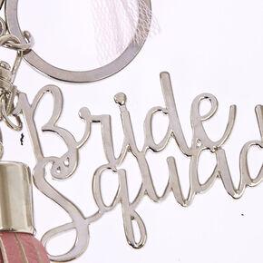 Bride Squad Tassel Keychain,