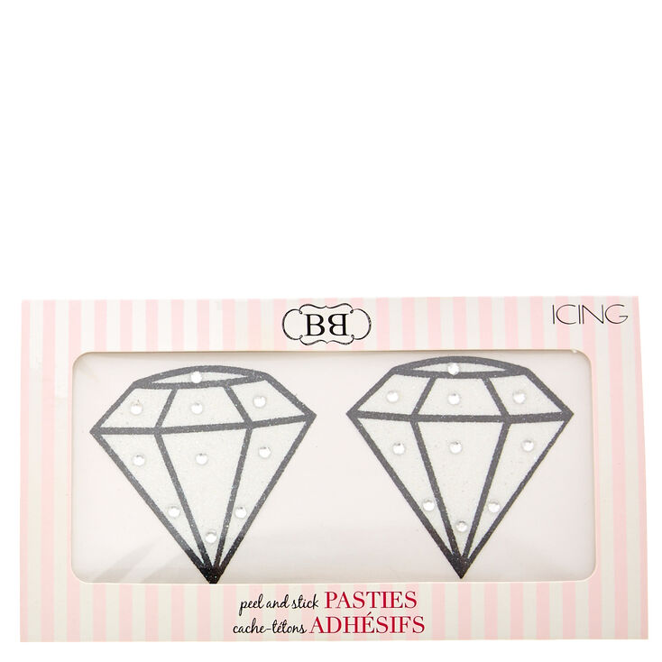 Diamond Peel & Stick Pasties,