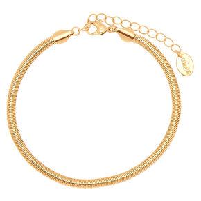 Gold Snake Chain Anklet,