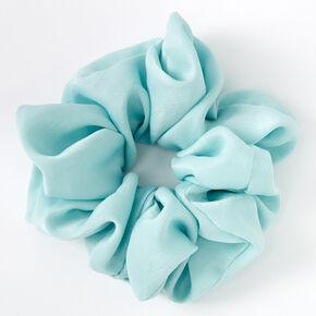 Giant Satin Hair Scrunchie - Mint,