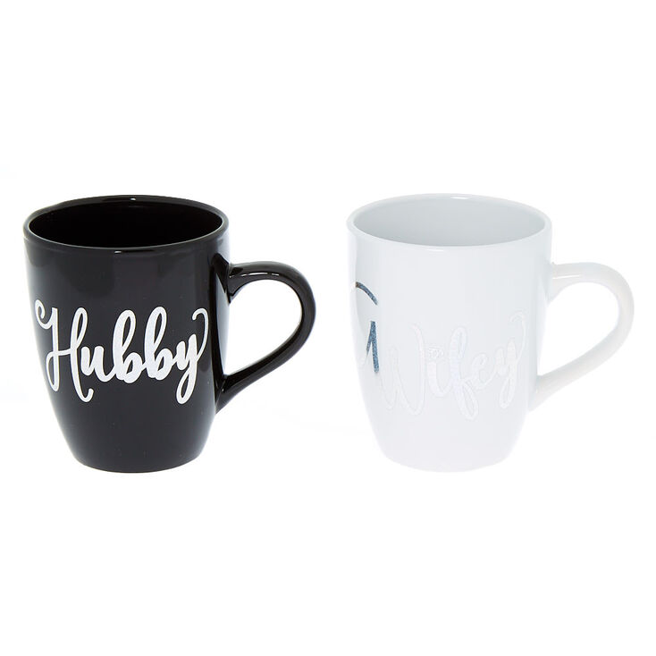 Hubby & Wifey Mug Set - 2 Pack,