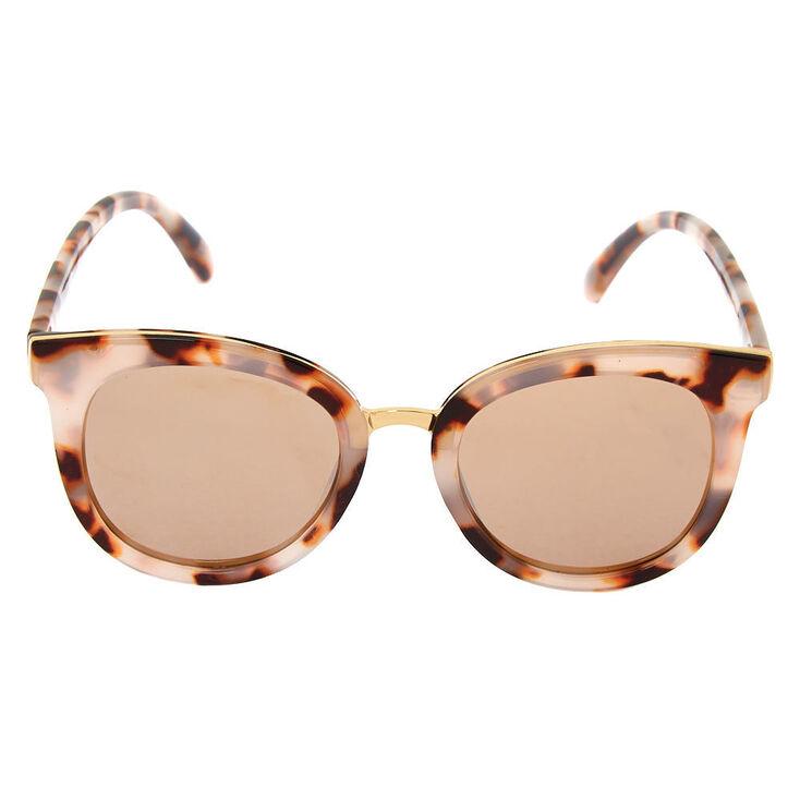Tortoise Mod Sunglasses - Brown,