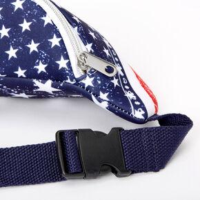 American Flag Bandana Slim Fanny Pack,