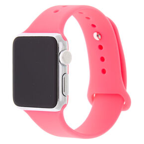 Hot Pink Smart Watch Band - Fits 38MM/40MM Apple Watch,