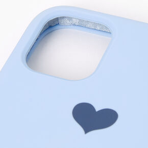 Baby Blue Heart Phone Case - Fits iPhone 11,