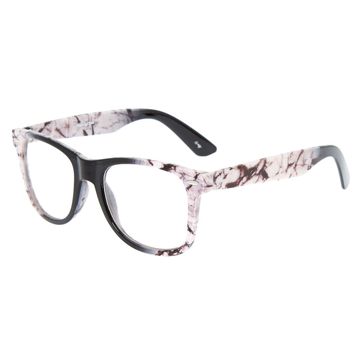 Retro Marbled Frames - White | Icing US