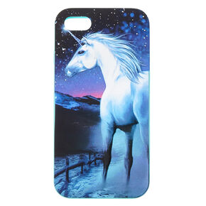 Blue 3D Silicone Unicorn Phone Case - Fits iPhone 6/7/8,