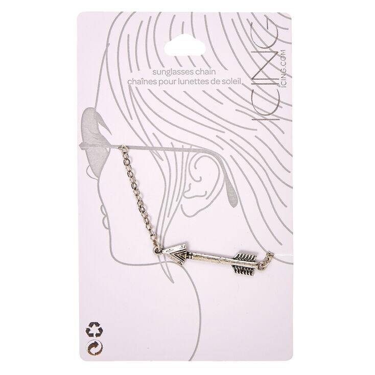 Silver Arrow Sunglasses Chain,