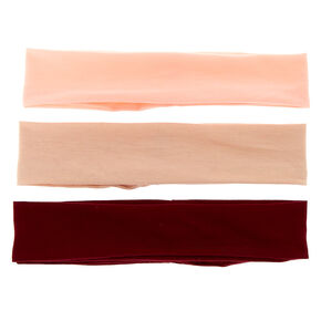 Berry Nude Headwraps - 3 Pack,