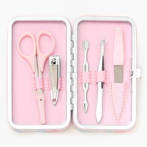 Pastel Tie-Dye Manicure Kit,