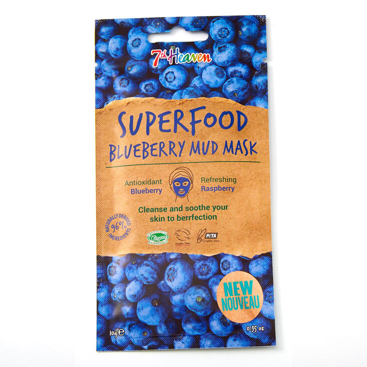 7th Heaven Superfood Blueberry Mud Mask,