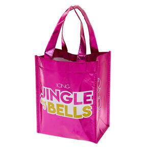 Small Holiday Reusable Tote Bag,