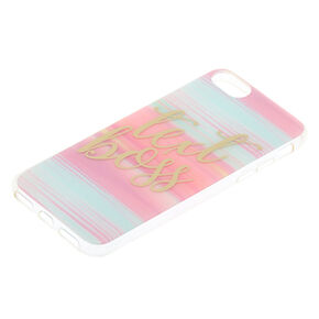 Pastel Text Boss Phone Case,