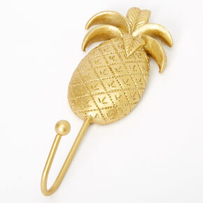 Pineapple Wall Hook - Gold,