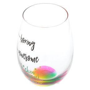 F*ckin Magical Unicorn Wine Glass,