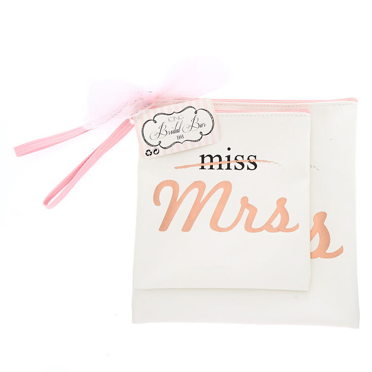 Miss To Mrs. Pouches - White,