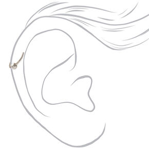 Titanium 20G Silver Cartilage Earring,