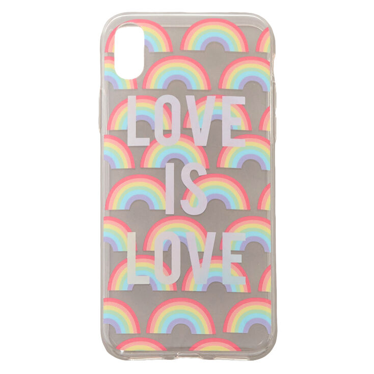 Love Is Love Phone Rainbow Case,