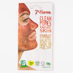 7th Heaven Stardust Galactic Gold Peel-Off Face Mask,