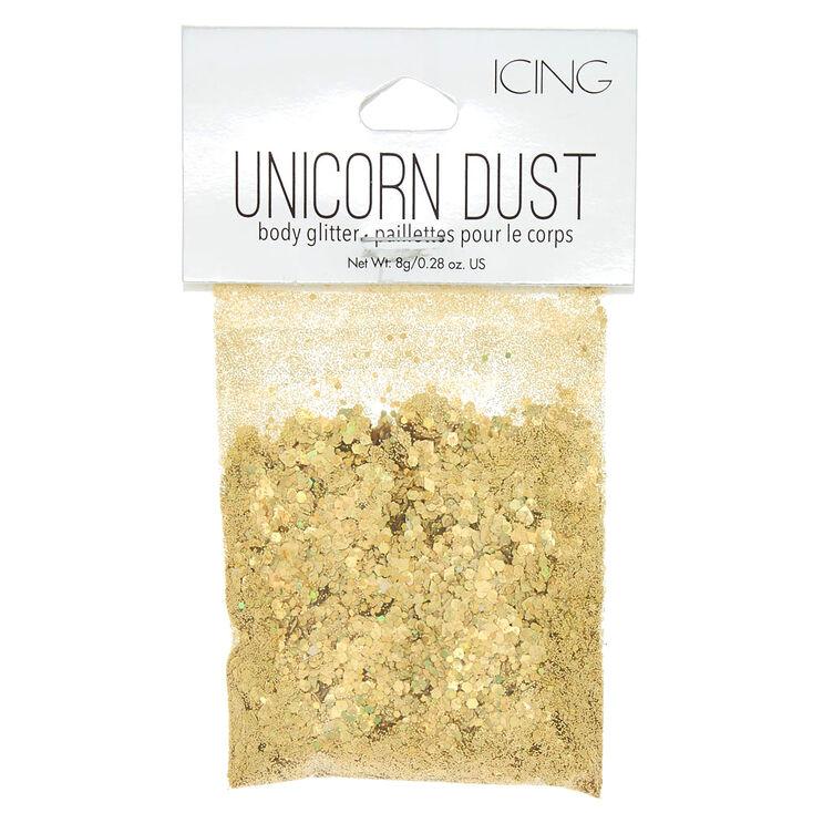 Unicorn Dust Body Glitter - Gold,