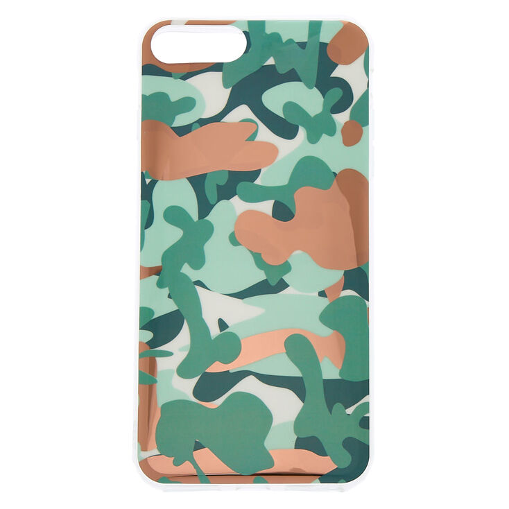 Rose Gold Camo Phone Case  - Fits iPhone 6/7/8 Plus,