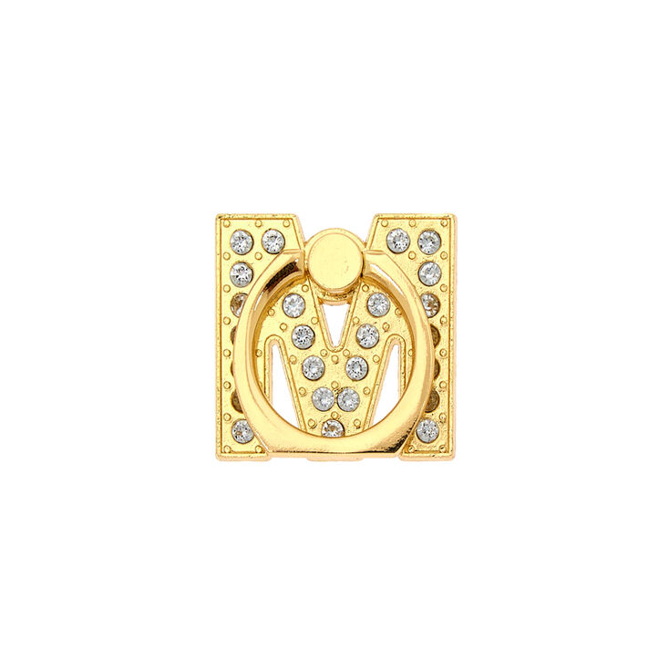 Gold Initial Ring Stand - M,